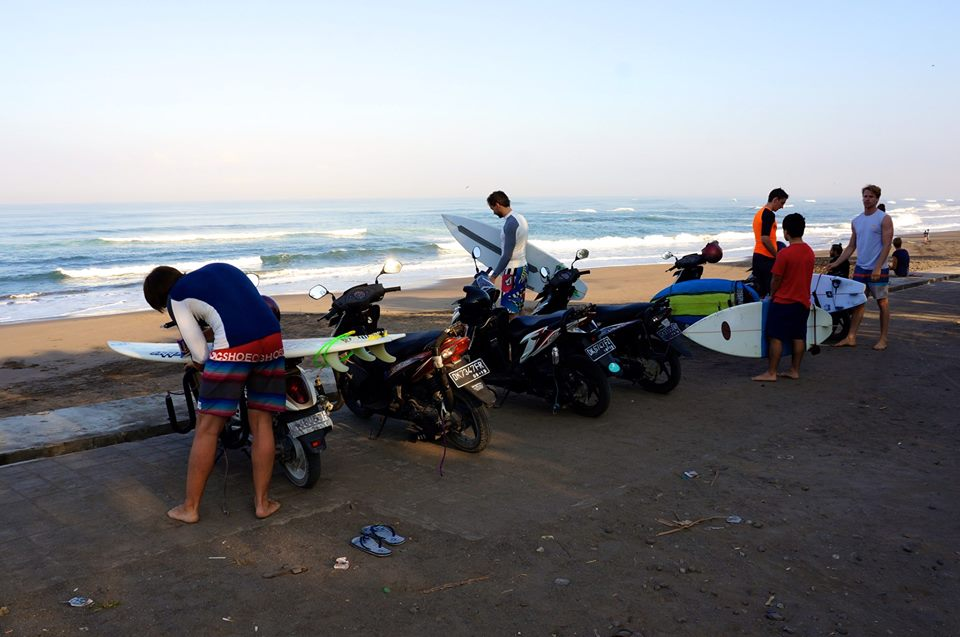 LUEX Team after the ride up to Kedungu | Photo: Matt Clark