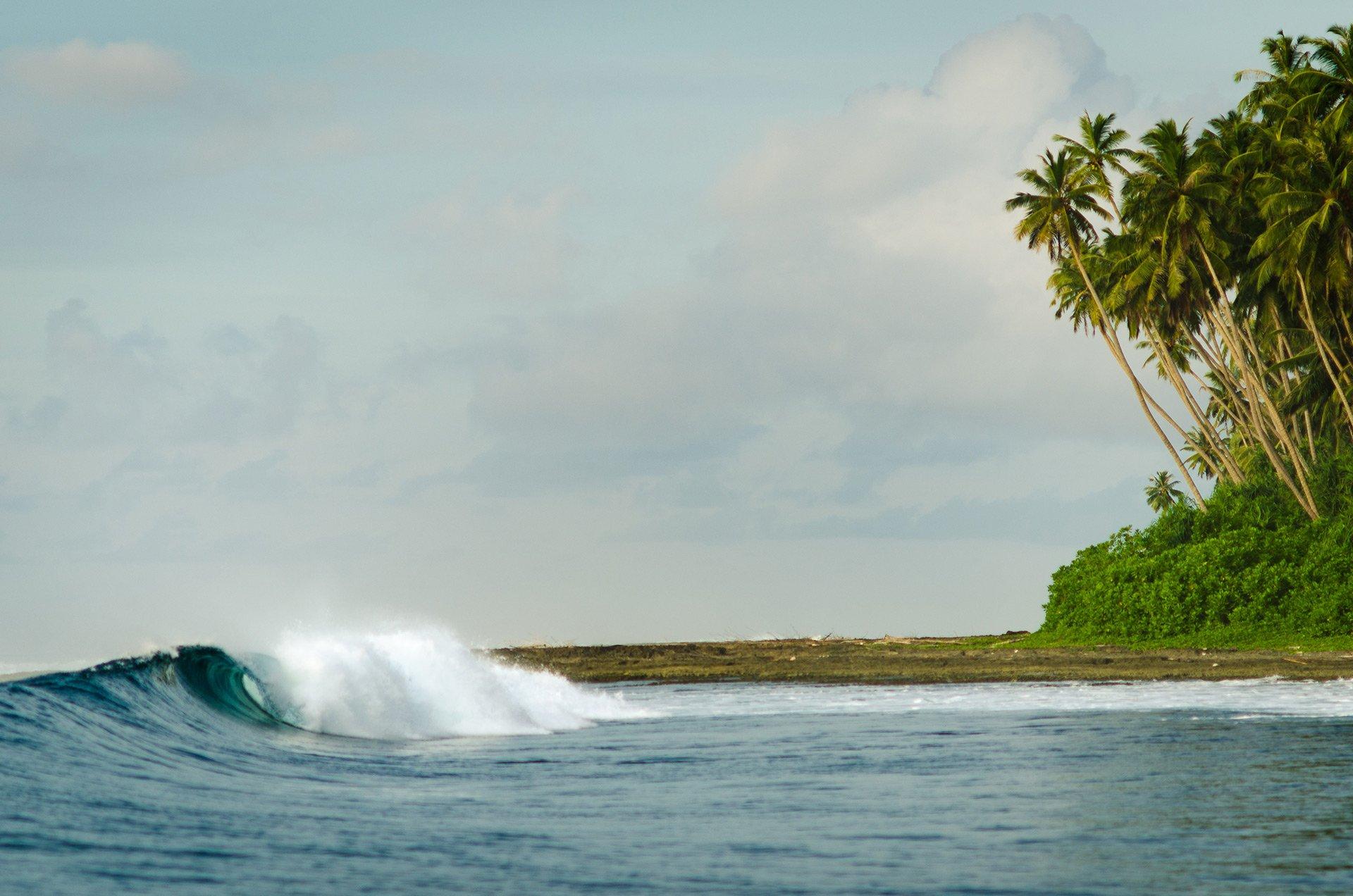 Surfing Simeulue surfspots: Tea-Bags