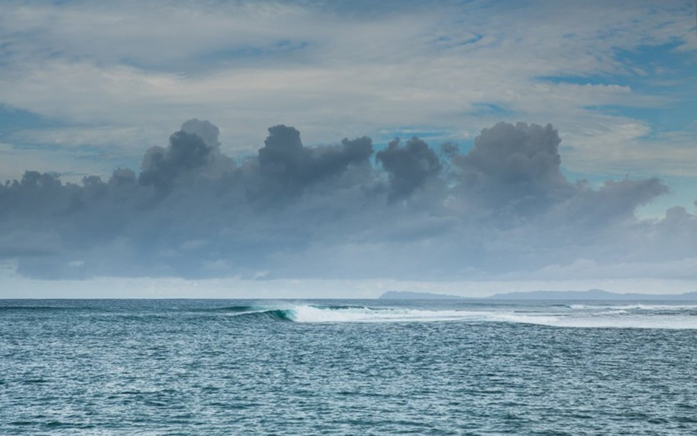 Empty Surfspot Simeulue Island
