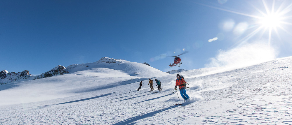 Heliski Switzerland