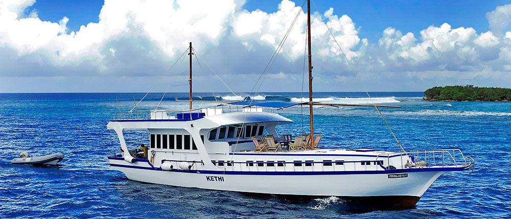 Surf Boats Maldives
