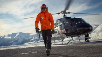 Heliskiing in Caucasus with Heliksir