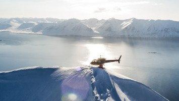 Arctic Heliskiing