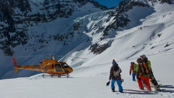 Andes Heliboarding